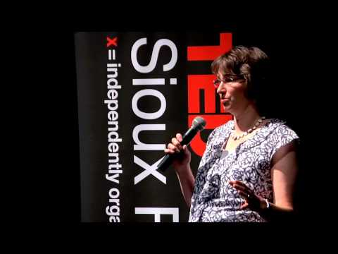 TEDxSiouxFalls - Kristi Egland - Changing The World Two Breasts At A Time.