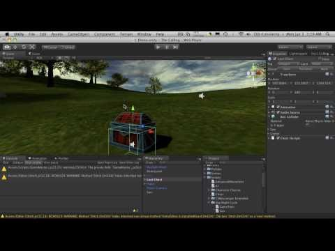 113. Unity3d Tutorial - Interacting With Game Objects Part 3