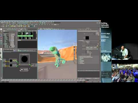 Building Characters in the Autodesk® Maya® Entertainment Creation Suite Premium