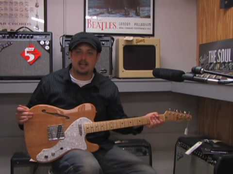 Fender Telecaster Thinline guitar review