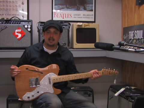 Fender Telecaster Thinline guitar review