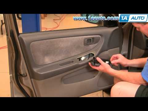 How To Install Replace Front Power Window Switch Nissan Altima 00-01 1AAuto.com