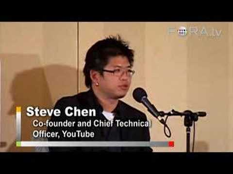 YouTube and Copyright - Chad Hurley and Steve Chen