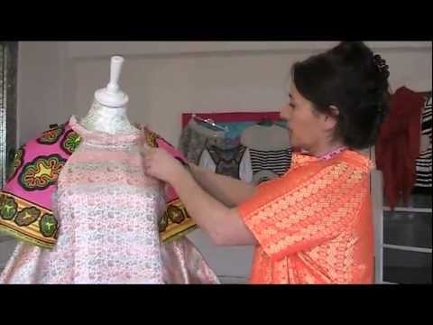 SEW A SCULPTURED DRESS WITH BUCKET POCKETS - PART 2
