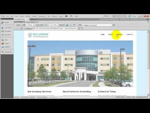 Setting Up The CSS Layout - General Business Site - 3 Column CSS Layout - 4