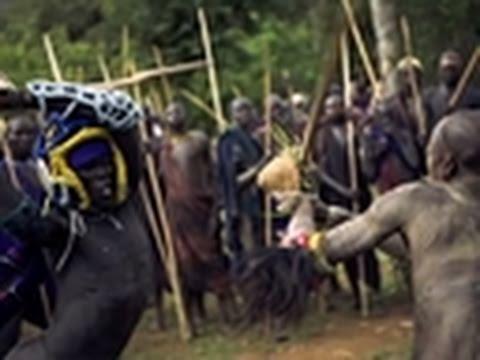 Human Planet- Suri Cattlemen Fight