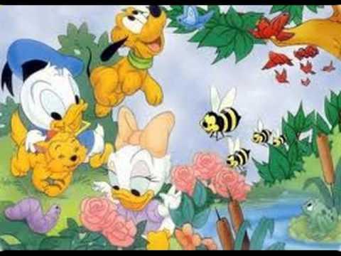Cartoon - Donald and Daisy Duck