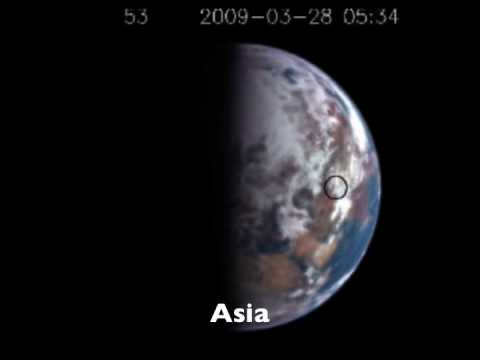 NASA spacecraft see Earth winking from 18 million km away!