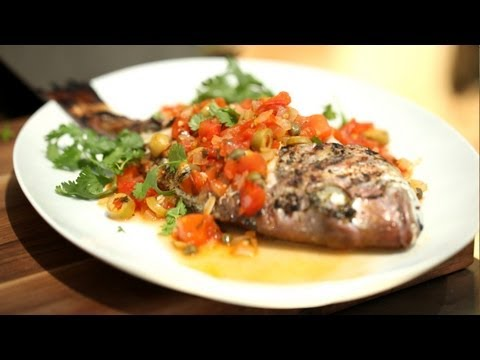 Fish Recipes Veracruz Grilled Whole (Stove BBQ Summer) || KIN EATS