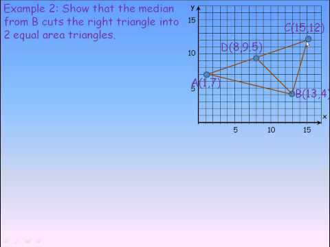 Apply Slope, Midpoint and Length Formulas Part 2