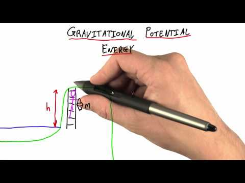 Gravitational Potential Energy - Intro to Physics - Work and Energy - Udacity