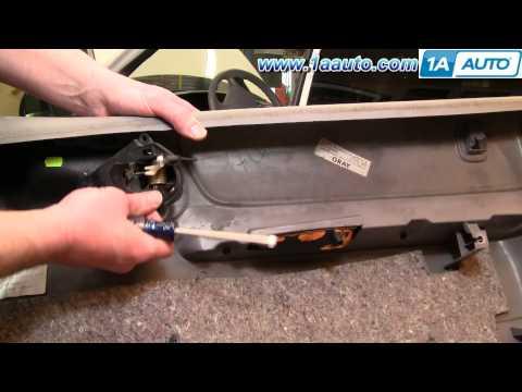 How To Install Replace Inside Door Handle Dodge Caravan 96-00 1AAuto.com