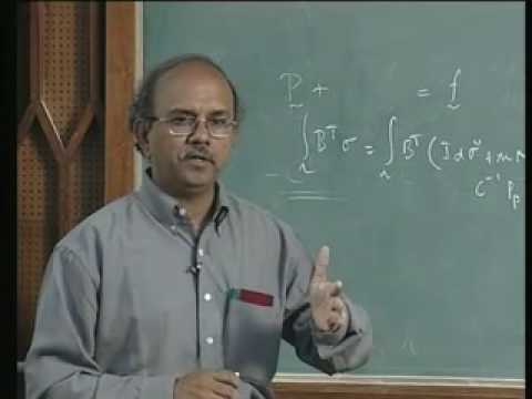 Lecture - 11 Advanced Finite Elements Analysis