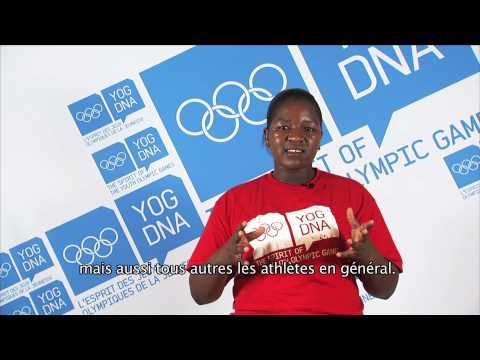 Young Ambassador - Zimbabwe - Primrose Mhunduru - Singapore 2010 Youth Olympic Games