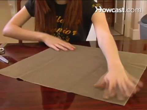 How To Re-Cover a Pillow