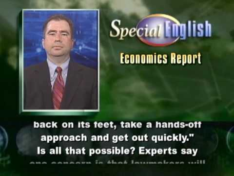 VOA Learning English - Economics Report # 392