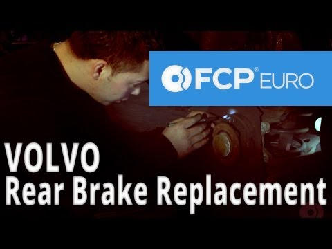 Volvo Brake Replacement (Rear Pads and Discs - S60, S80, XC70, V70) - FCP Euro