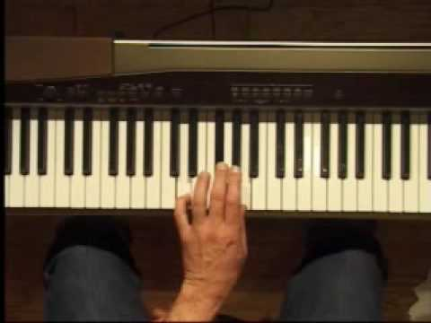 Piano Lesson - D Major Triad Inversions (Left Hand)