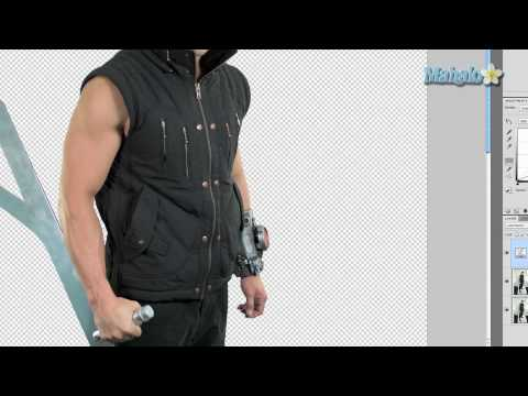 Photoshop Tutorial - Enhance Muscles - Curves