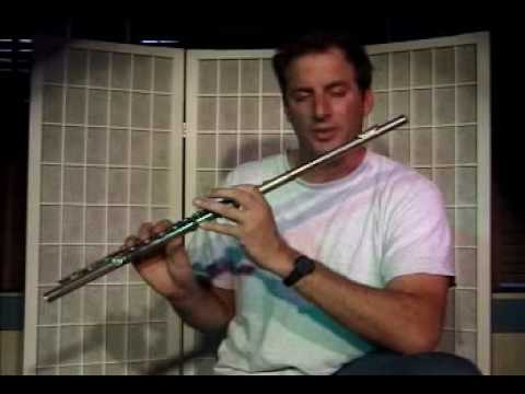 "Flute Lesson - How to play the ""B"" note with fingering"