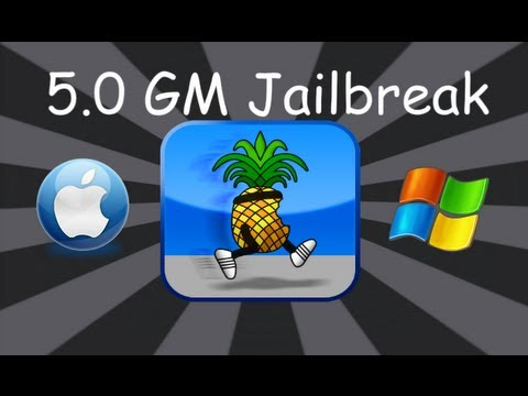 Jailbreak 5.0 GM Firmware For iPhone 4,3Gs,iPod Touch 4,3 & iPad