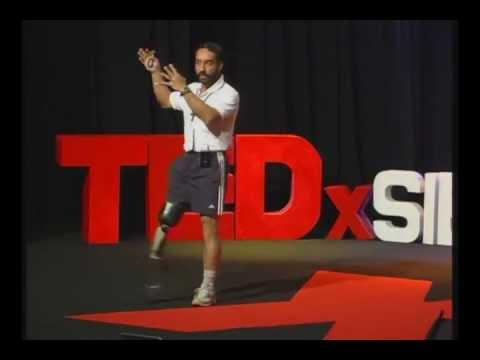 TEDxSIBMBangalore - Major D.P Singh, 'India's First Blade Runner' - Challenging The Conventional