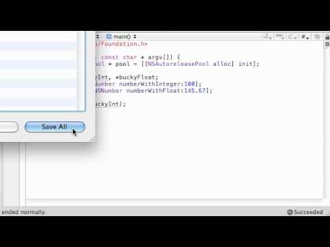 Objective C Programming Tutorial - 51 - Introduction to Number Objects