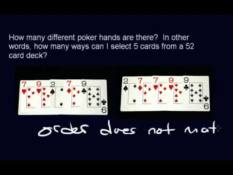 Permutations and Combinations - (Part 4) - Intro to Combinations