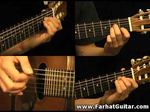 The unforgiven - Metallica Part 3 Guitar Cover FarhatGuitar.com