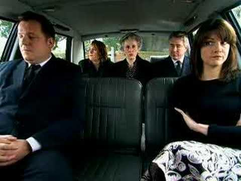 Sheila Carter funeral - The Catherine Tate Show - BBC comedy