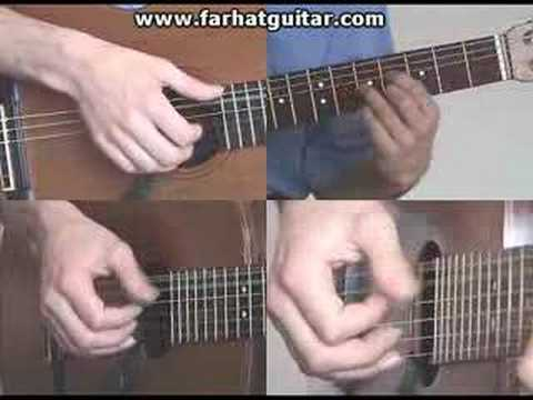 Right hand guitar exercise 4 - Clasical Guitar