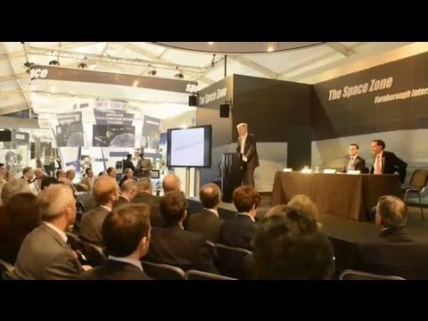 Space for knowledge, competitiveness & growth - Driving growth from space Farnborough 2012