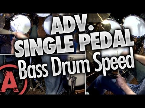 Single Pedal Bass Drum Speed - Advanced Drum Lessons