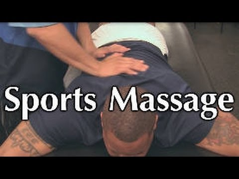 Too Ripped? Awesome Sports Massage for Back Pain, Tight Muscles, Poor Posture
