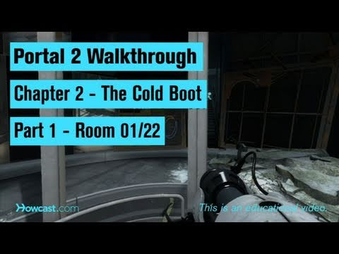Portal 2 Walkthrough / Chapter 2 - Part 1: Room 01/22