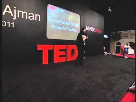 TEDxAjman - Amna Al Haddad - Emotional Salad