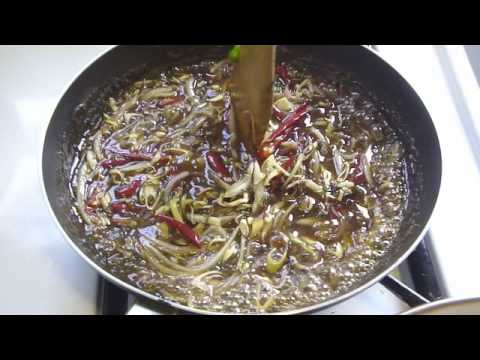 Thai Fried Shrimp with Tamarind Sauce Part 2 กุ้งทอดน้ำมะขาม