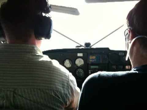 Takeoff in small seaplane, British Columbia