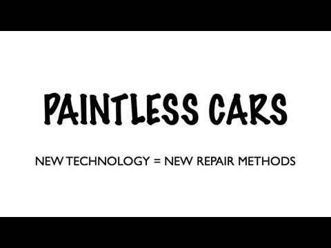Paintless Cars: New Technology Being Devoloped For Cars With No Paint = New Repair Methods