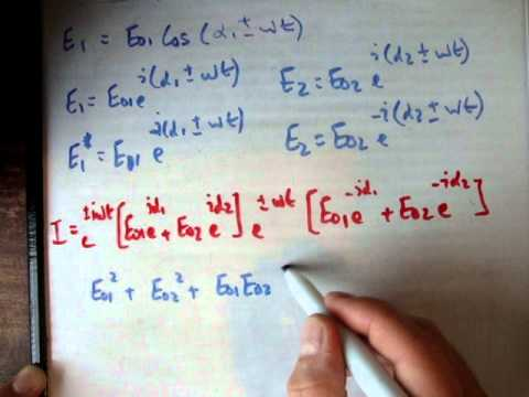 Superposition of waves proof