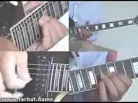 Nothing Else Matters Metallica Guitar Solo Cover farhatguitar.com