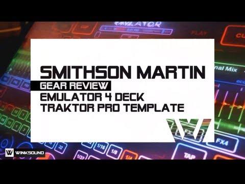 Smithson Martin Emulator 4 Deck DJ Template | WinkSound