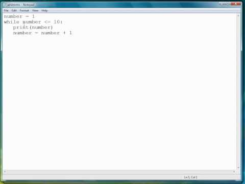 Python Programming Tutorial | WhileLoop Intro