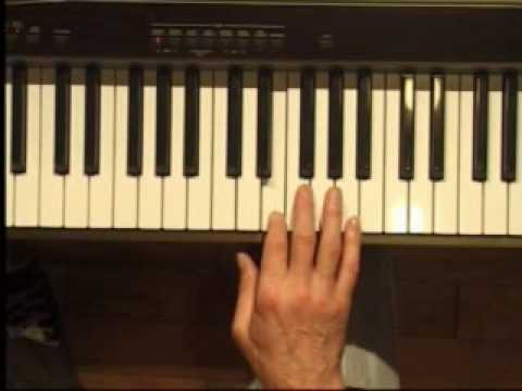 Piano Lesson - Half Steps and Whole Steps in Key of C major