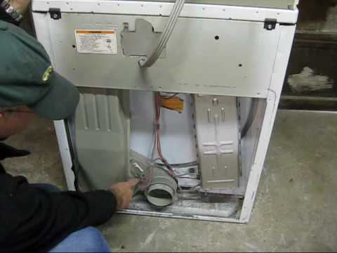 WHIRLPOOL DRYER REPAIR VIDEO 4