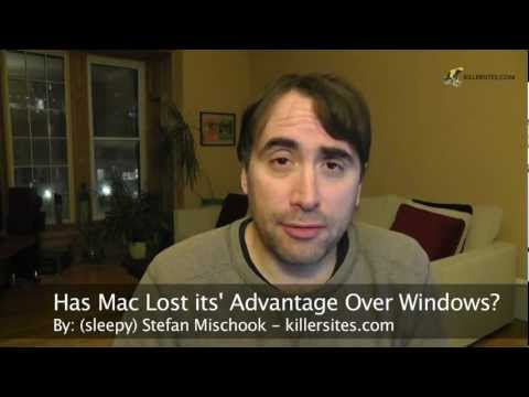 vblog - Has Mac OSX Lost its' Advantage Over Windows
