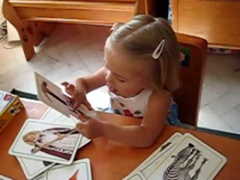 Toddler - Reading. Alphabet cards