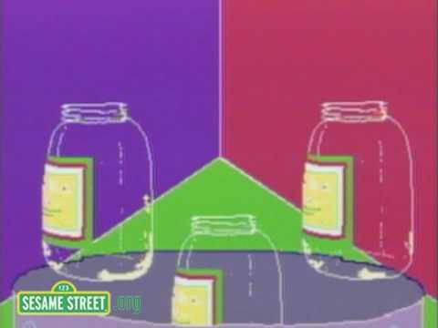 Sesame Street: Mayonaise Jar
