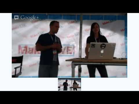 Spacing Out Your Brain with Chris Gerty on Make: Live Stage at World Maker Faire 2012