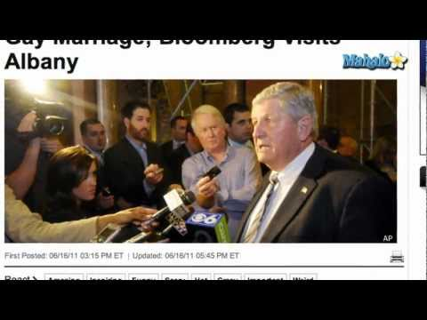 Ny Senator Roy Mcdonald Defends Gay Marriage